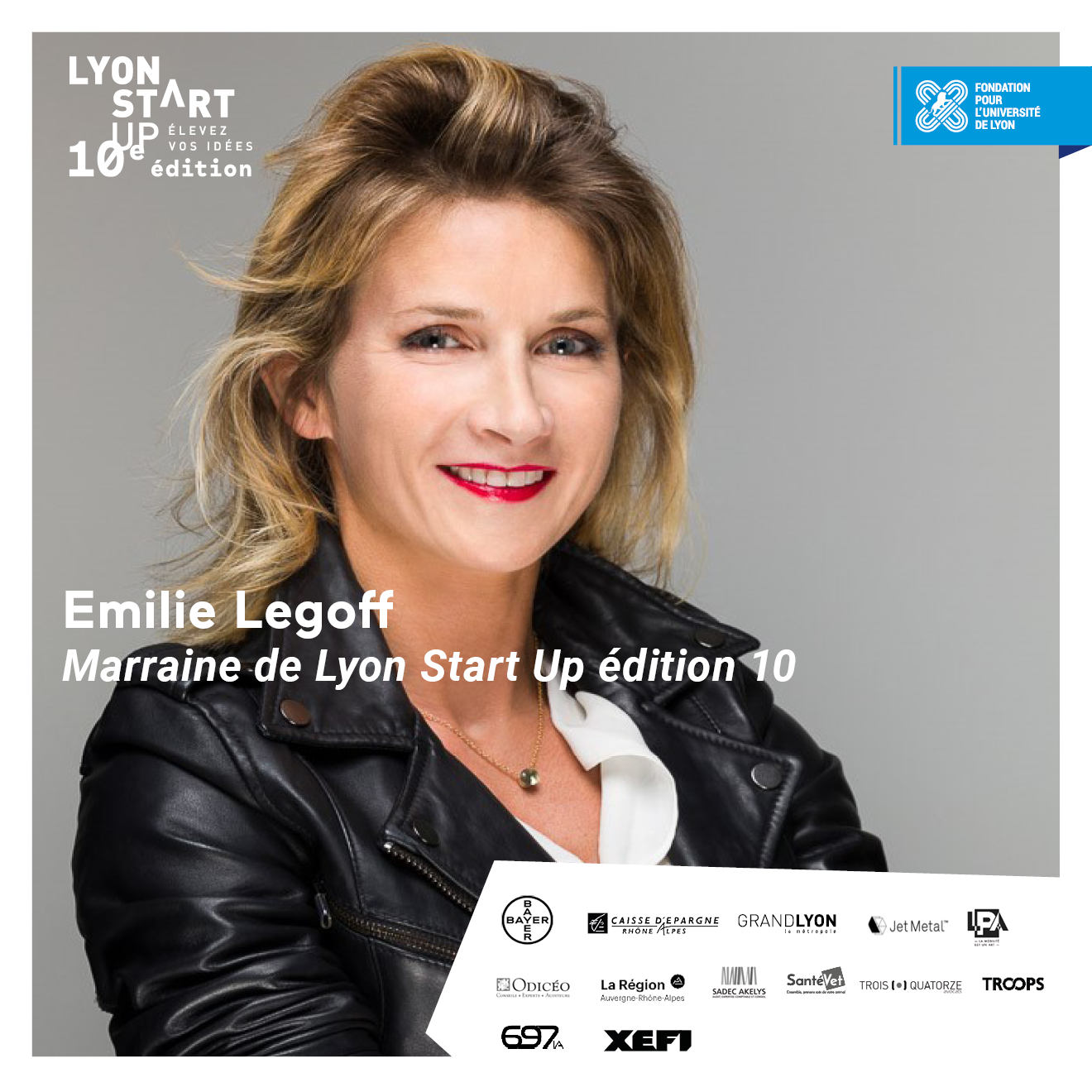 Image de l'article [PORTRAIT DE] Émilie Legoff - Marraine de Lyon Start Up édition 10